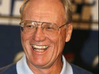 """San Diego Chargers' head coach Marty Schottenheimer, shown in 2007, hailed the Chiefs' hiring of Andy Reid as """"spectacular."""""""