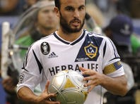Landon Donovan has yet to decide his playing future after winning the MLS Cup in December.