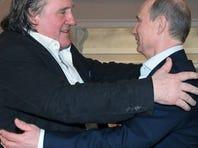 French actor Depardieu gets Russian passport from Putin