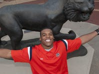 Cam Newton is back at Auburn hoping to add sheepskin to his national championship hardware.