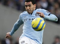 Carlos Tevez joined Manchester City from Manchester United in 2009.