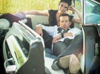 """Shawna Thompson, top, and husband Keifer Thompson of Thompson Square will release their second album, """"Just Feels Good,"""" on March 26, 2013."""