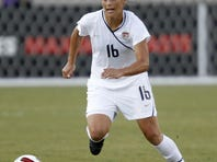 Defender Ali Krieger tore knee ligaments during an Olympic qualifying match last January.