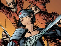 """The sword-wielding warrior meets a cast of new martial-arts villains in the DC Comics series """"Katana,"""" debuting Wednesday."""