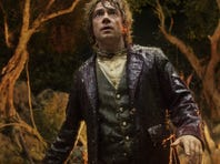 """Martin Freeman picked up a best-actor nod and """"The Hobbit: An Unexpected Journey"""" leads all movies with nine nominations at this year;s Saturn Awards."""