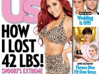 Snooki shares her weight loss story with 'Us Weekly.'