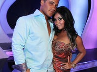 Nicole 'Snooki' Polizzi and her fiance, Jionni LaValle.