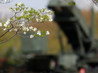 A missile interceptor is deployed April 12 in Tokyo amid a tense situation over a possible missile launch by North Korea. Seoul and Washington speculated that it is preparing to test-fire a missile designed to be capable of reaching Guam.