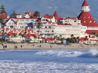 The Hotel del Coronado in San Diego.