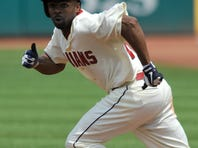 Michael Bourn's speed on the bases and in center field has the Indians giving chase in the AL Central.