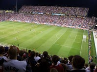 A World Cup qualifying match, September 11, 2012 between USA and Jamaica. Brazil says they are prepared to host the event in 2014.