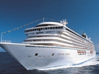 Another luxury ship with giant suites is Crystal Cruises' 1,070-passenger Crystal Serenity.