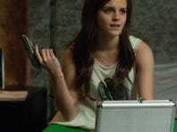 Emma Watson's 'Bling Ring' character breaks into the homes of the rich and famous for fun.
