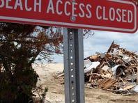 Sandy demolition continues In Mantoloking, N.J.