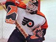 Former Flyers goalie Ron Hextall is back with the franchise, now in a front office role.