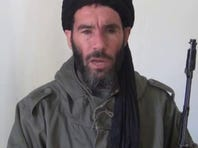 Militant leader Mokhtar Belmokhtar speaks in a video released by SITE Intel Group on Jan. 17, 2013.