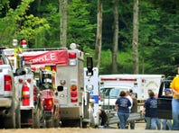 A helicopter crash in a remote, wooded area of northeastern Pennsylvania claimed the lives of five people, state police said Sunday.