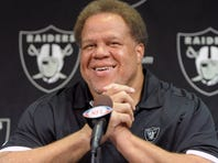 Raiders general manager Reggie McKenzie has no interest in adding Terrell Owens, Chad Johnson or Plaxico Burress (sorry, guys).
