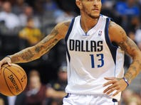 Delonte West was cut by the Mavericks after being suspended twice.