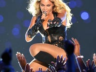 Two Savannah State students snuck into the Super Bowl in time to catch part of Beyonce's halftime performance.