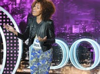 "AMERICAN IDOL: Kiara Lanier sings Celine Dion's ""The Prayer"" in front of the judges in Chicago."