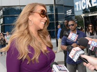 AMERICAN IDOL 12:  Mariah Carey arrives at the Charlotte Motor Speedway for the taping of AMERICAN IDOL Wednesday, Oct. 3 in Charlotte, N.C.