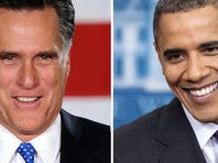 Mitt Romney and President Obama will face each other in three debates next month.