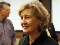GOP Sen. Kay Bailey Hutchison of Texas, first elected in 1993, is retiring.