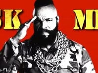 Mr. T has a new web series and has joined Twitter.