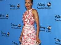 Kerry Washington attends the Disney & ABC Television Group's party at The Beverly Hilton Hotel on Sunday.