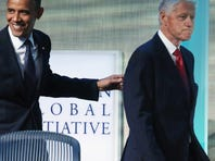 President Obama and Bill Clinton