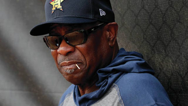 Houston Astros manager Dusty Baker would like to see Major League Baseball step in and stop any further negative comments regarding his team's sign-stealing controversy or any actions players may take during games as a result of the scandal.