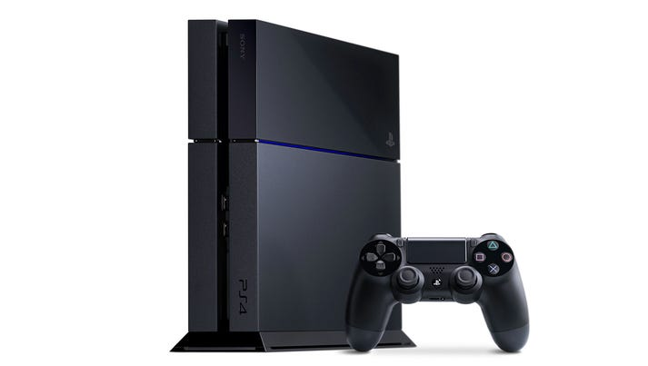 Sony PlayStation 4 console.