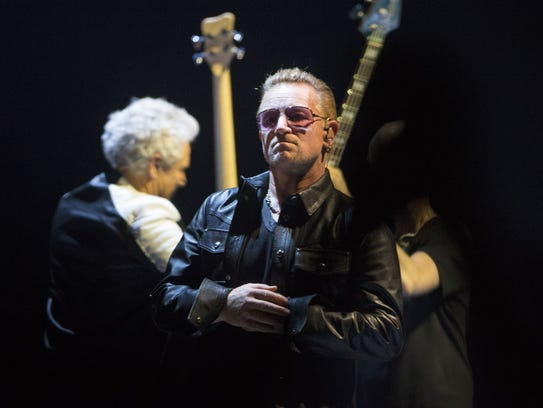 U2 at US Airways Center May 22, 2015.