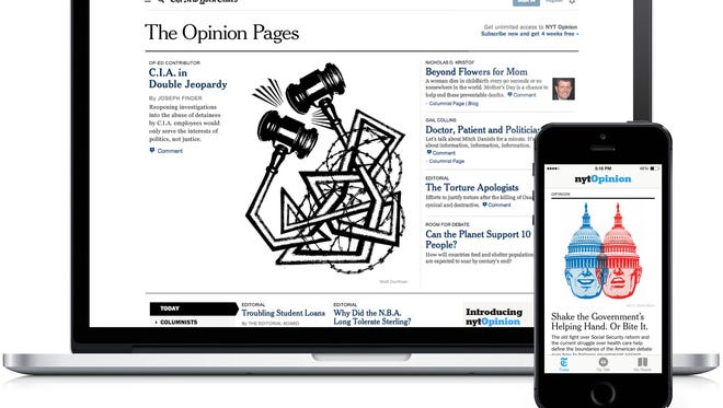 New York Times is considering a shorter version of the paper as it invests heavily in digital efforts.
