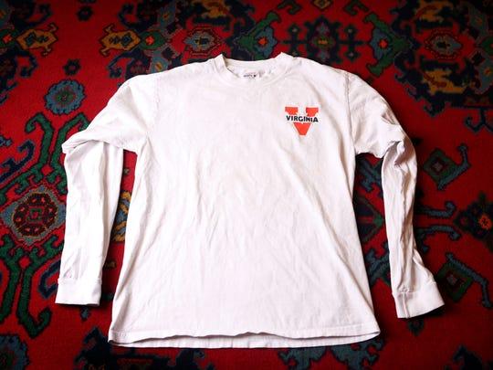 Stylemaker Katherine Doyle's T-shirt. July 22, 2014.