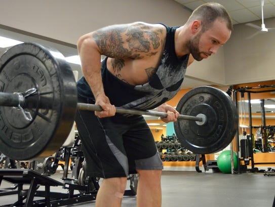 Scott Ousley, personal trainer at Powerhouse Gym in
