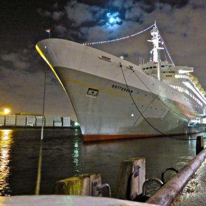 Ocean liner photo tours: The historic SS Rotterdam