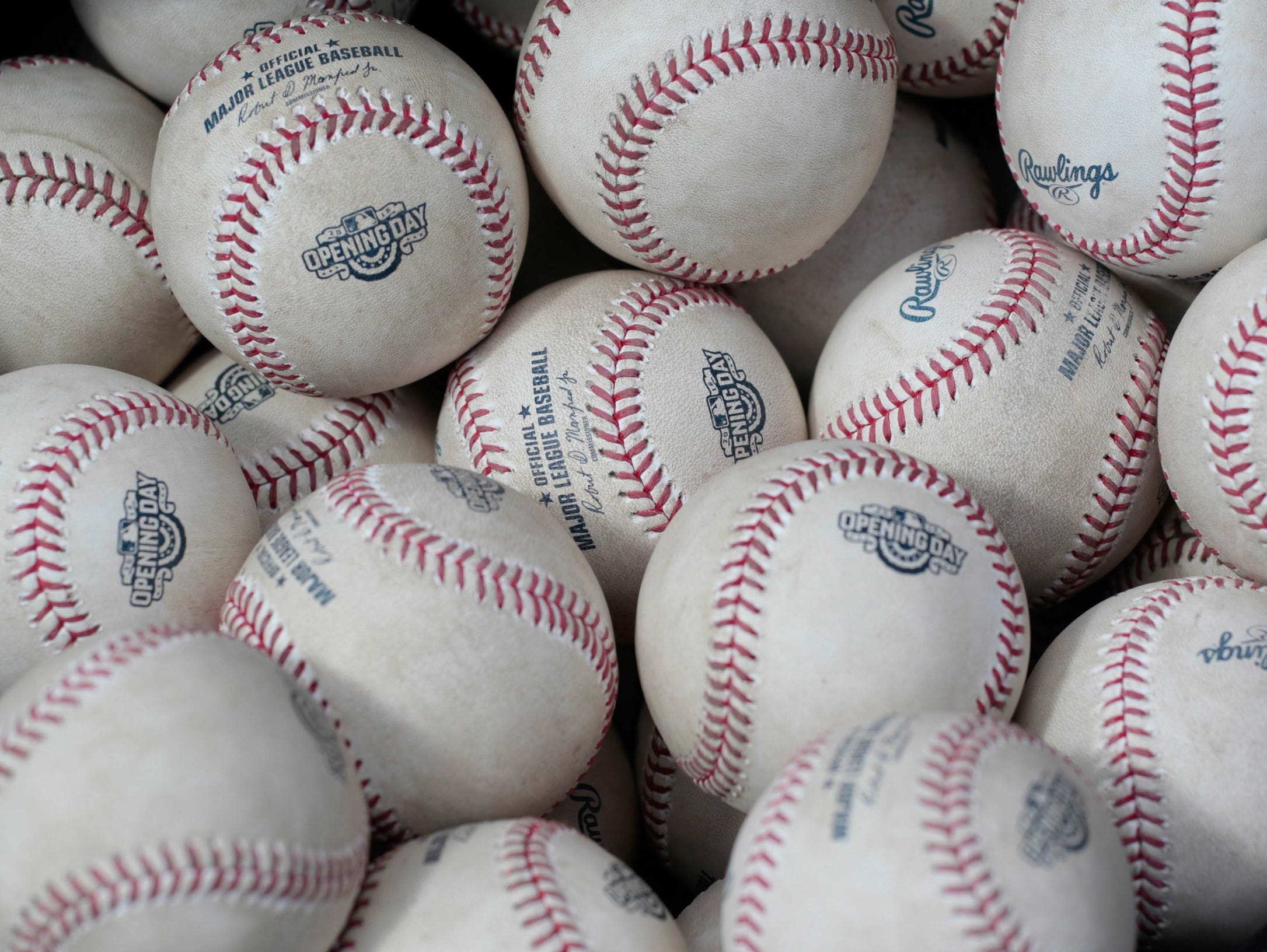 Baseballs.
