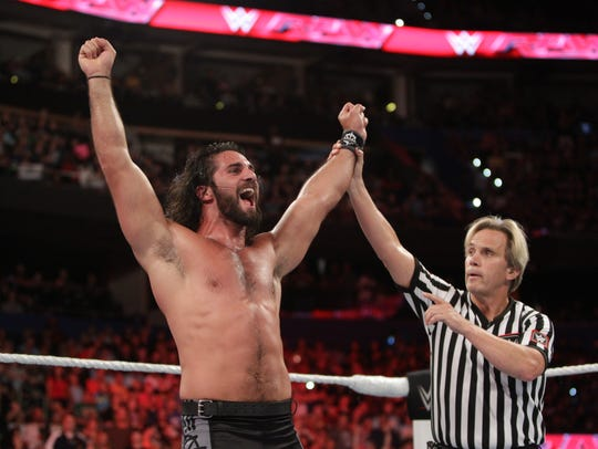 WWE's Seth Rollins will be at the July 23, 2017 Summerslam