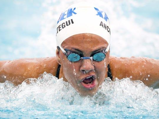 Phoenix Xavier Prep has the state's best girls swimming