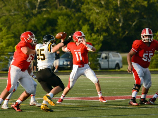 Plainfield QB Ben Slaton has eight TDs in his last two games.