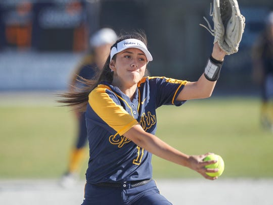 Notre Dame's Vanessa Gonzalez leads the Monterey Bay Leagues in shutouts (four) this season and could have another shot at playoff glory this season.