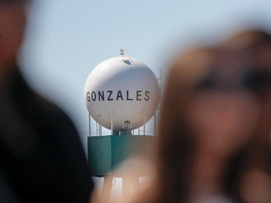 Gonzales' 107th annual commencement ceremony held in Dick Force Stadium at Gonzales High School on Saturday, June 10, 2017 in Gonzales, Calif. Vernon McKnight/for The Californian