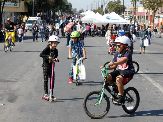 fifth annual Ciclovía Salinas