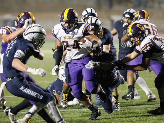CCS Football: Salinas vs. Aptos