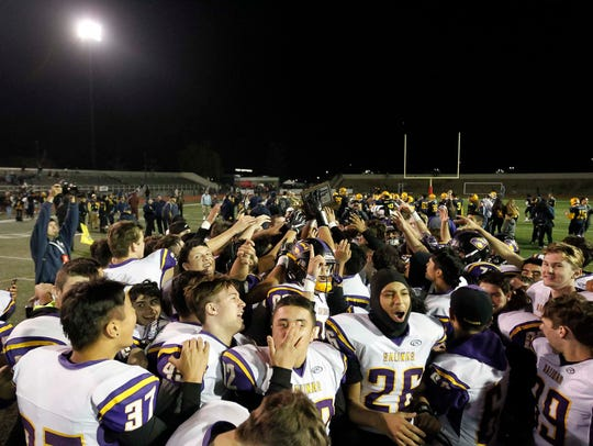 Despite losing 27-0 to Milpitas at home during the season, Salinas rattled off nine straight wins to set up another game against the Trojans for the CCS Open Division I title. Their 25-18 win facing the undefeated Trojans cements the team's legacy for years to come.