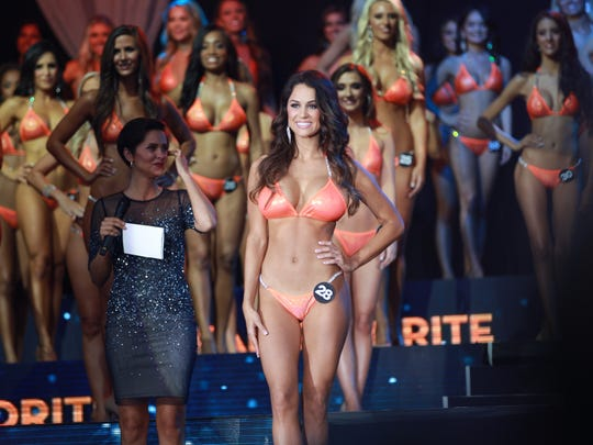 Hailey Slobodzian, who has worked at the Fort Myers Hooters for five years, won fan favorite for the second year at the Miss Hooters International Pageant this past weekend.