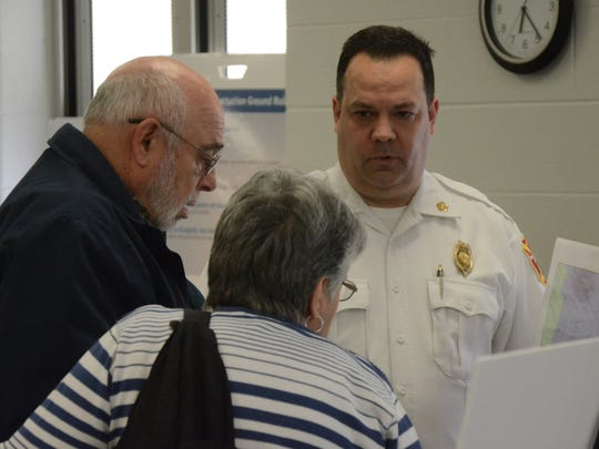 Fire Chief David Schmaltz discusses some proposals