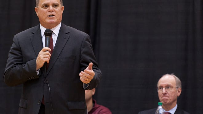 Michael Moore has stepped down as athletic director at IUPUI after 19 years.